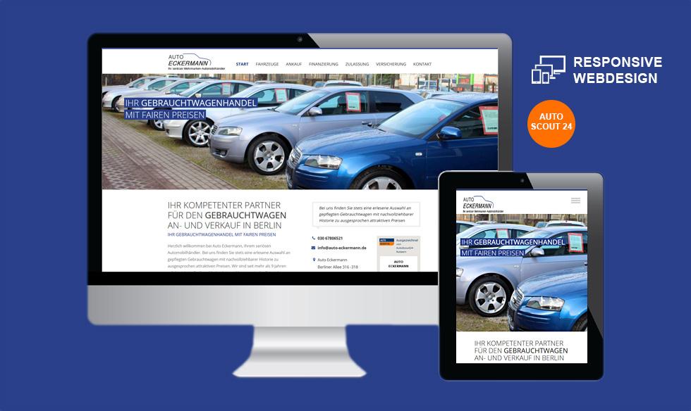 Berlin Wordpress Autohandel Internetseite gestalten